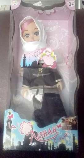 Obral mainan Boneka anak ber jilbab, aishah