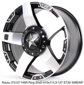 dijuall RASTA JT5137 HSR R20X9 H10X114,3-127 ET20 SMB/MF