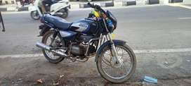 A bike is good condition