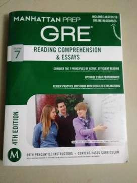 MANHATTAN PREP GRE -READING COMPREHENSION &ESSAYS