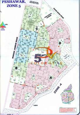 5 Marla Plot Available for Sale in Regi Model Town Peshawar