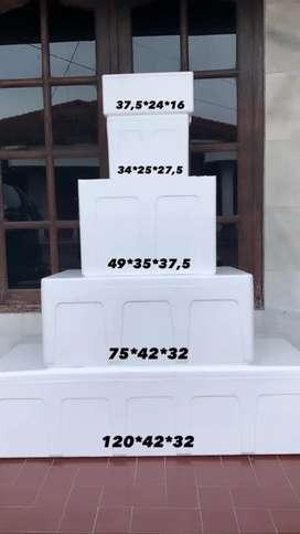 STYROFOAM BOX UK 34, 37, 49, 75 , dan 120 / STEROFOAM BOX