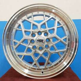 Velg Mobil Xenia dll Ring 17 HSR Wheel MYTH06 Silver