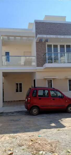 3bhk with buplex model angd gated community