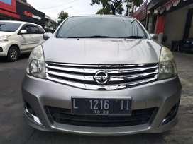 Nissan grand Livina XV Matic AT silver 2012 pmk 2013 Surabaya