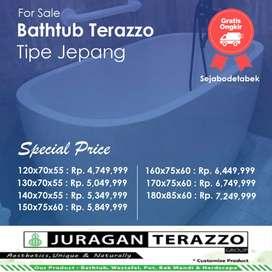 Bathtub Terazzo tipe JT-BT03 Bali
