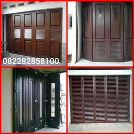 Pintu panel, pintu garasi, pintu folding