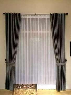 Tirai gorden gordyn hordeng curtain model bervareasi