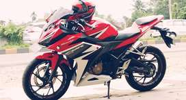 Cbr150 red racing  area kota padang