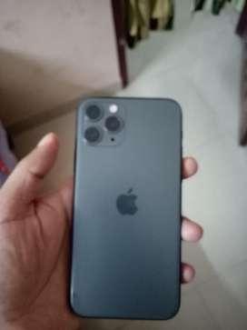 Iphone 11 Pro 64 GB Midnight green, Under warranty, Full insurance