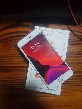 Jual Iphone 6s+ 128 GB rose gold