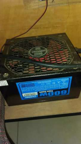 Power Supply 80+ Dazumba 600 watt Lifetime Warranty
