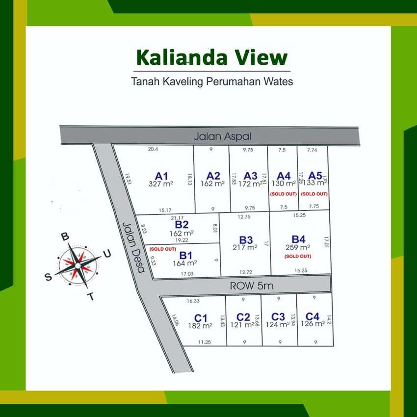 Kavling Murah Strategis Wates Kulon Progo, Disc 25%, SHM Pecah Unit