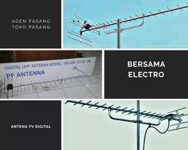 Agen teknisi pasang signal antena tv outdoor