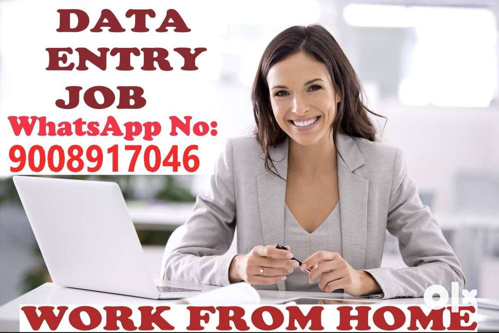 Data entry job for everyone work from home