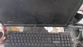 Compaq hp pc with all accessories
