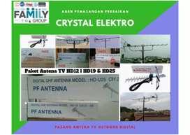 Jual antena tv digital + pemasangan lokasi dekat Tapos