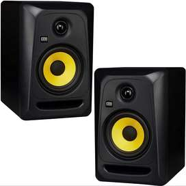 KRK Classic 5  2-Way Studio Monitor Pair