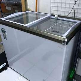 Freezer Box RSA XS-200 171L Pintu Sliding 97% Mulus Like New