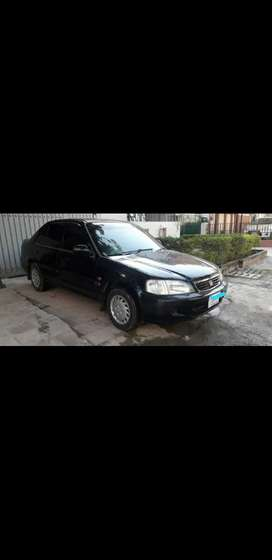 Honda City 2002 Islamabad Number Black Colour