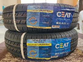 CEAT Milaze X3 Tube Tyres for Car Size 145/80 R12