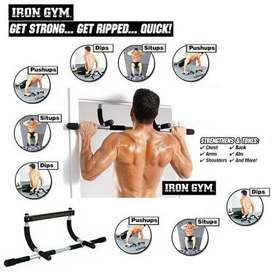 Iron Gym Pul up Bar machines and other equipment for the home Many typ