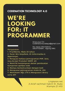 Design Graphics & Programmer