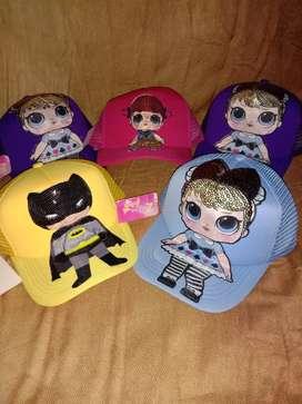Topi Led LOL dan superhero