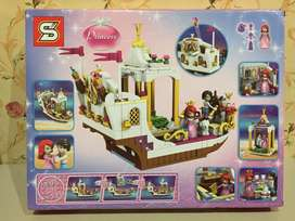 Lego SY987 princess Ariel Royal celebration boat
