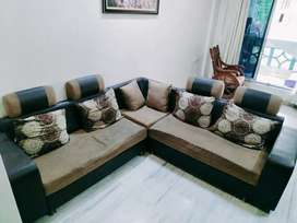 Sofa set in L shape