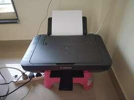 Canon Pixma E470 inkjet printer