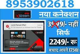AIRTEL Xstream Box @ 2249 only Android TV Tata sky Binge Dish D2H