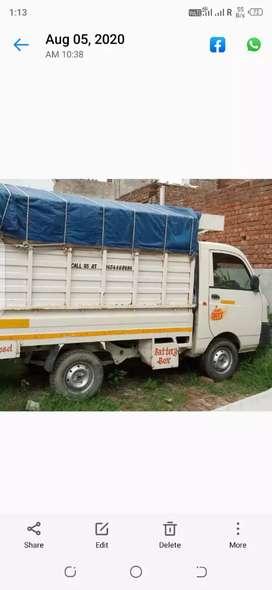Mahindra supro 1 ton passing loading