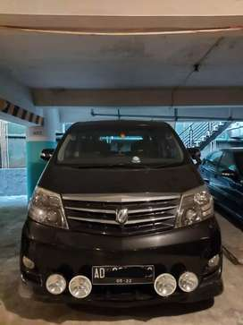 Alphard 2008 plat AD good condition