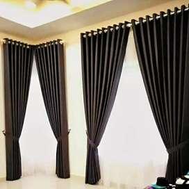 Gorden gordyn curtain tirai menuaikan rasa yang nyaman