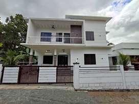 Mannuthy 1520 SqFt ,3bhk villa,Thrissur -60lakhs