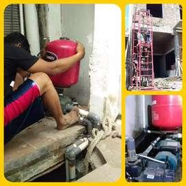 Jasa  servis pompa air/ jasa sumur bor/sedot wc