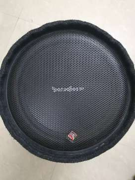 Rockford Fosgate Bass Tube With JBL GT series Amplifier