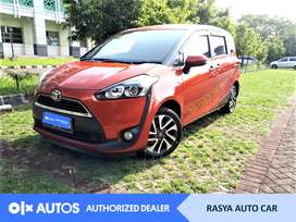 [OLXAutos] Toyota Sienta 2017 V 1.5 Bensin A/T Oranye #Rasya Auto Car
