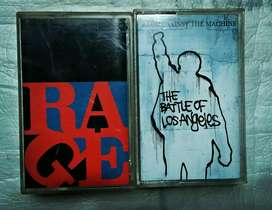 paket kaset Rage Again The Machine