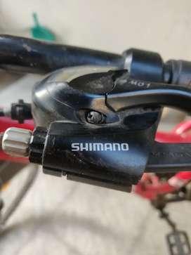 1.5 years old gear cycle shimano