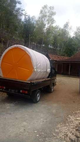 Tandon air 5000 liter HDPE Purwodadi kwalitas SNI tebal air minum