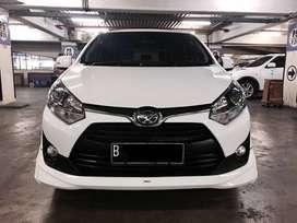 Toyota Agya 1.2 Km 20rban TRD S Thn 2017 Putih AT Matic