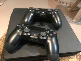 PS4 500 gb with external 500 gb hard Total ( 1tb )