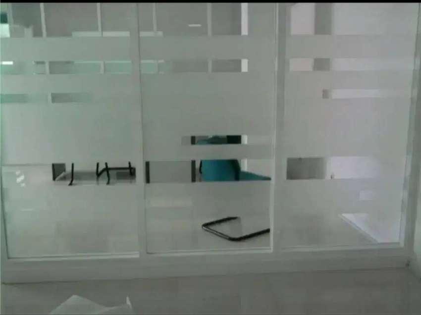 pusat pasang kaca film buram sanblast kacafilm tolak panas uv riben