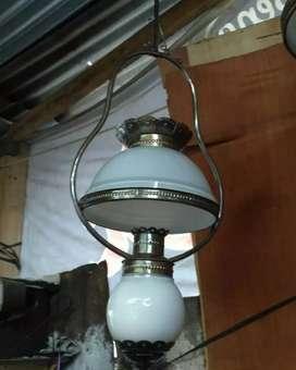 PRODUKSI LAMPU GANTUNG DINDING ANTIK MINIMALIS HIAS JOGLO CAFE
