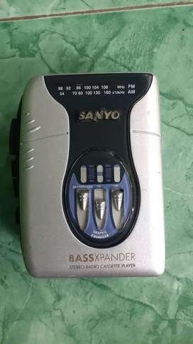 Walkman sanyo bassexpander