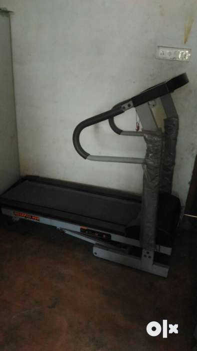 Black And Grey Treadmill 0