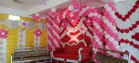 Balloons decorated