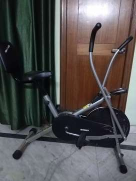 Exercise Cycle| Moving Handle Gym Bike| Cardio Fitness Work Out